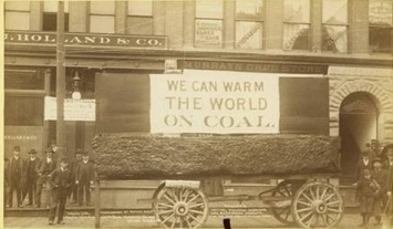 warm the world on coal